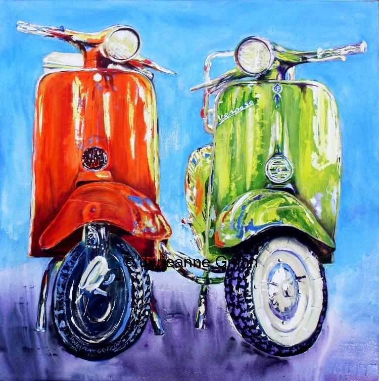Scooters, Vespa